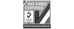 ISO 14001 | Awards & Accreditations | Avi Contracts Ltd